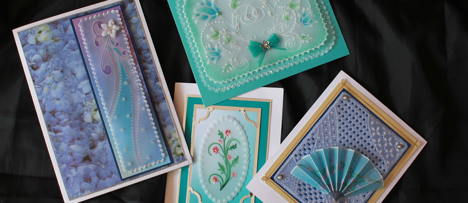 Kingfisher Crafts Specialists In Card Designed For Parchment Craft